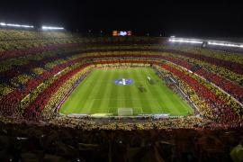 Siete detenidos en la operación contra la falsificación de entradas del Barça