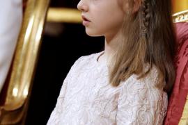 La primera intervención pública de la Princesa de Asturias será la lectura de un fragmento de la Constitución