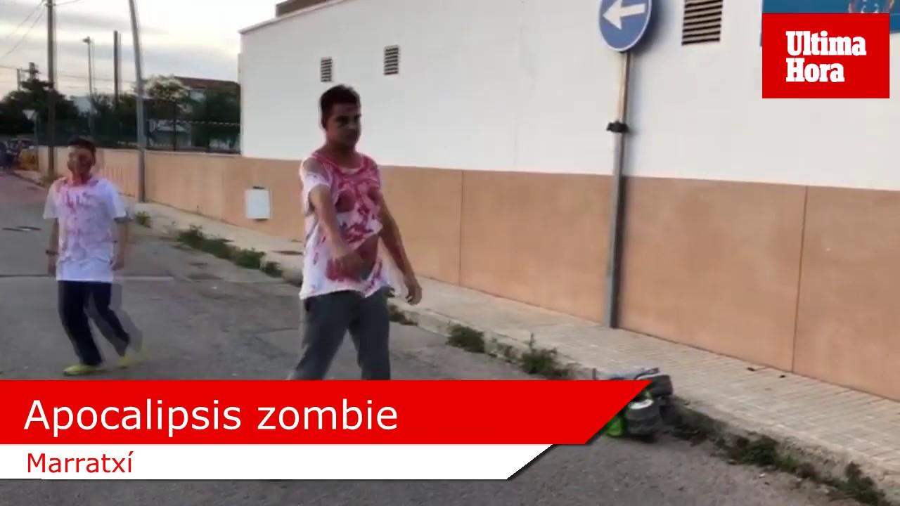 El 'apocalipsis zombie' llega Marratxí
