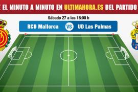 Real Mallorca-Las Palmas, en directo