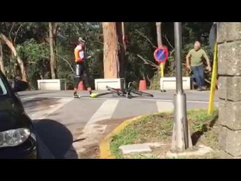 Los ciclistas atacados por un camionero con un martillo esperan pasos judiciales