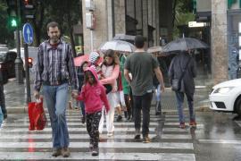 Frío, viento y lluvia para este domingo en Baleares