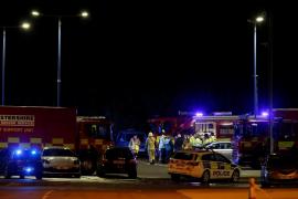 El helicóptero del dueño del Leicester se estrella fuera del estadio
