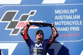 Viñales gana el Gran Premio de Australia de MotoGP