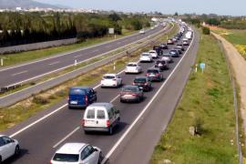 Obras en la autopista entre Inca y Santa Maria desde este domingo