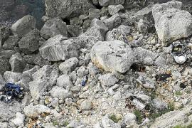 Rescatan el cadáver de un hombre que cayó en coche por los acantilados de es Cap Blanc