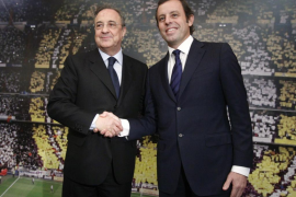 Pérez y Sandro Rosell no ven el «Clásico» definitivo para la Liga