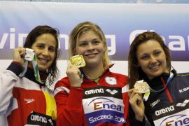Melanie Costa se mete en la final  de 400 libre marcando nuevo récord de España