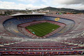 La Guardia Civil organiza un operativo en el Camp Nou para detectar entradas falsas