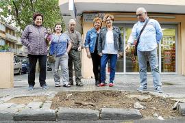 Los vecinos del Coll critican la falta de mantenimiento e infraestructuras