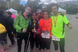 Una mujer ciega mallorquina participa en el Medio Maratón de la Mujer de Madrid