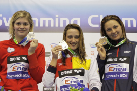 Otro bronce para Melanie Costa y tercer oro para Mireia Belmonte, en los 400