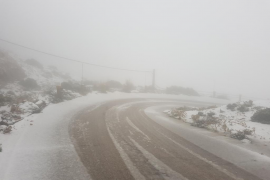 Las primeras nieves del otoño llegan a Mallorca