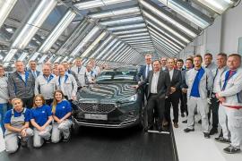 Volkswagen Wolfsburg ya fabrica el SEAT Tarraco