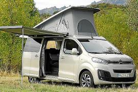 Nuevas versiones Camper del Citroën SpaceTourer