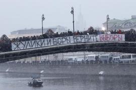 La protesta contra el fraude electoral,  la mayor en Rusia desde la Perestroika