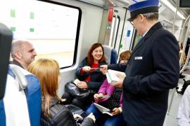 El tren ya es eléctrico hasta sa Pobla, pero Manacor deberá esperar a diciembre para evitar transbordos