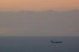 Mallorca, visible desde el Tibidabo de Barcelona