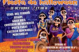 Fiesta infantil de Halloween en el CEIP Guillem de Montgrí