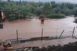 Unas 60 casas sufrieron daños «leves» durante las inundaciones en Pollença