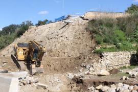 El Consell estudia instalar un puente militar provisional para habilitar la carretera Artà-Can Picafort