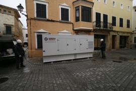 Endesa recupera el servicio a 12.723 clientes de Menorca afectados por los cortes de luz
