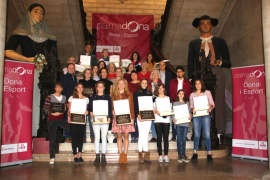 Cort homenajea a 23 deportistas palmesanas por su «esfuerzo y la lucha»