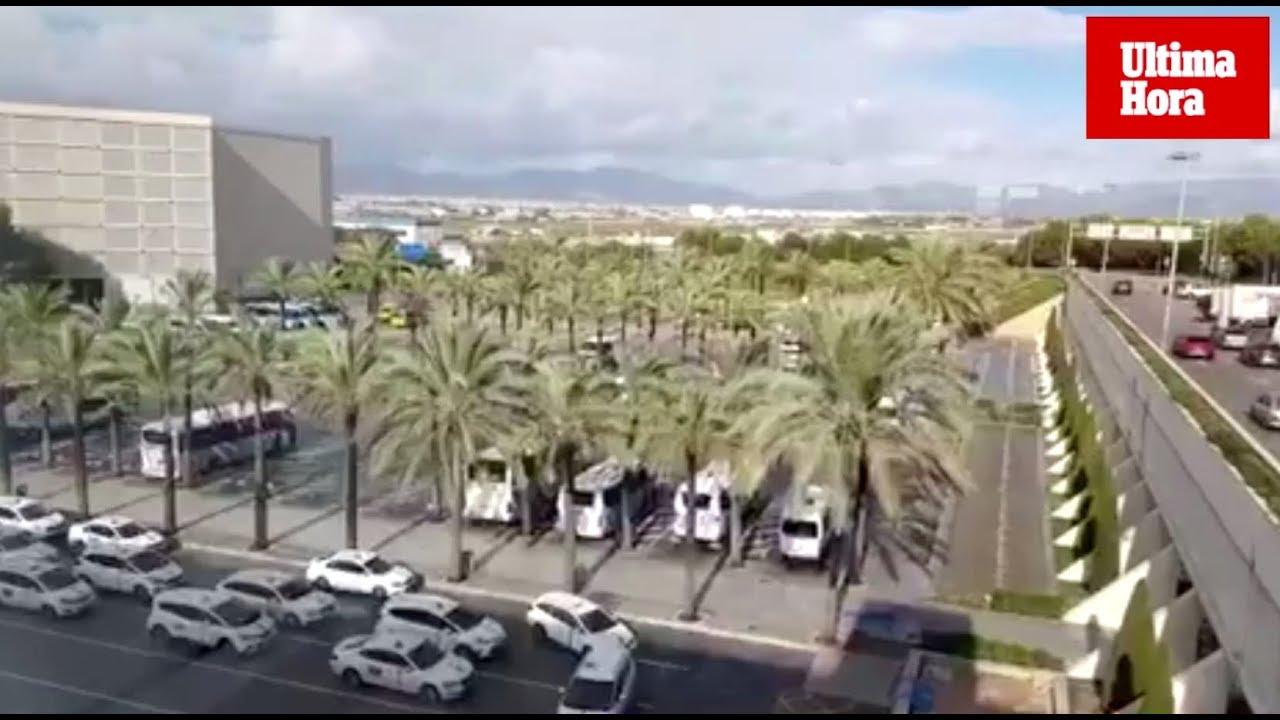 El Aeropuerto de Palma instala dos ascensores panorámicos