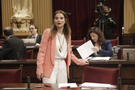 Marga Prohens en el Parlament