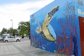 Decoran con grafitis cinco transformadores de Alcúdia
