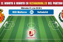 Real Mallorca-Valladolid, en directo