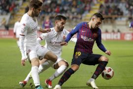 Lenglet salva el honor de un Barcelona mediocre