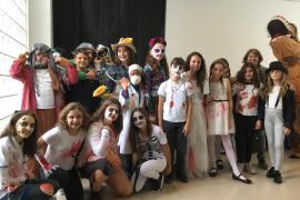 La tradición Pitiusa y la cultura del Halloween se dan de la mano en las escuelas (Fotos: Arguiñe Escandón/Redacción)