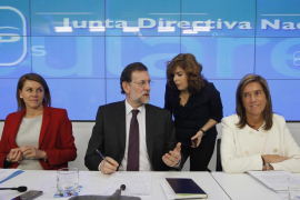 Rajoy pide a los miembros del PP que sean austeros en sus «gastos   personales»
