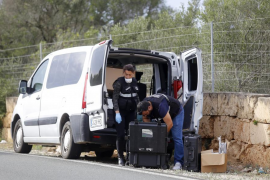La Guardia Civil investiga cómo los asesinos trasladaron el cuerpo a Cala Pi