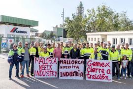 Convocan una manifestación este sábado contra el cierre de la fábrica de Cemex en Lloseta