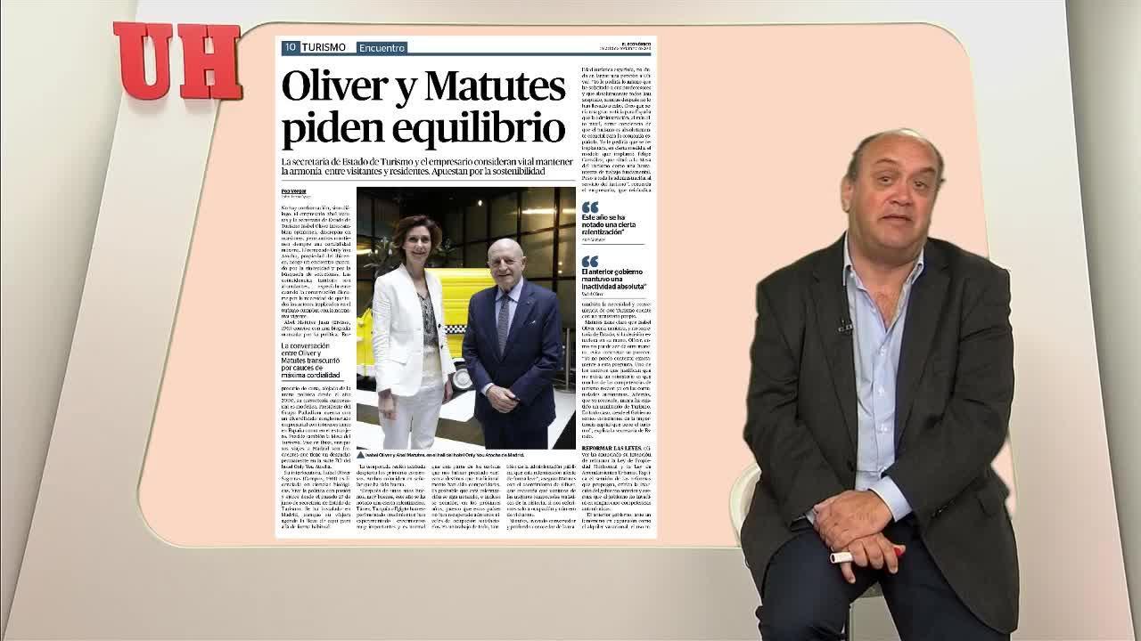 Oliver y Matutes piden equilibrio