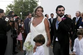 Caritina Goyanes da a luz a su primer hijo