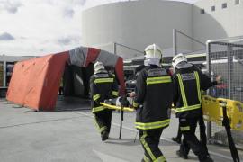 El Aeropuerto de Palma realiza un simulacro de evacuación por amenaza de bomba
