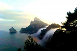 Nubes de Formentor