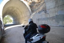 Cuatro meses de restricciones de tráfico por la reconstrución del túnel de Estellencs