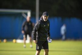 Anquela quiere a sus futbolistas «convencidos» contra el Mallorca