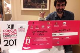 El mallorquín Igor Rodríguez participará en el II Campeonato Mundial de Tapas con un pincho de cerdo ibérico