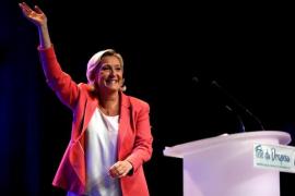 El partido de Marine Le Pen supera en intención de voto al de Macron en las elecciones al Parlamento Europeo