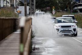 Un frente atlántico trae de nuevo lluvia a Baleares