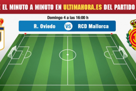 Oviedo-Real Mallorca, en directo