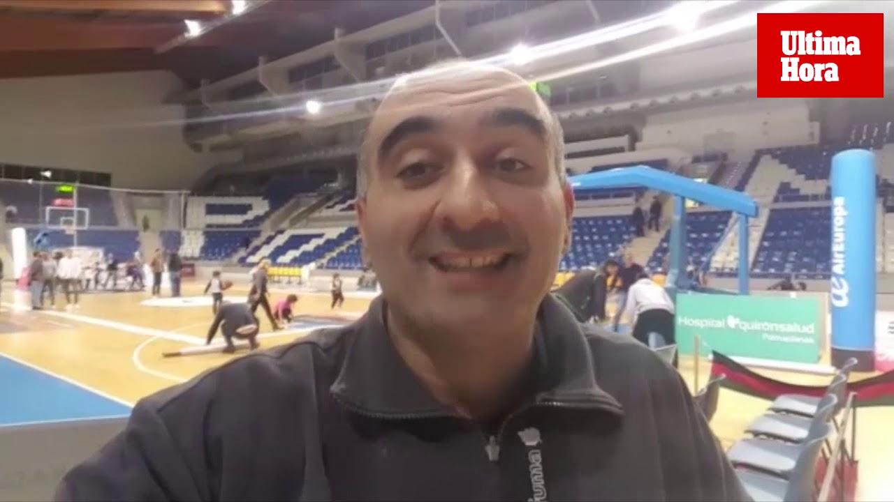 Fernando Fernández, sobre la derrota del Iberojet Palma: «Un equipo hoy perdido»