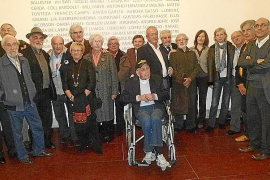 Inauguración histórica de la exposición de Grup Dimecres en ses Voltes