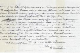 A subasta la 'Carta de Dios' de Einstein por 1,3 millones de euros
