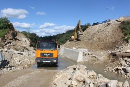 El Consell y Artà pedirán a Defensa la instalación de un puente desmontable